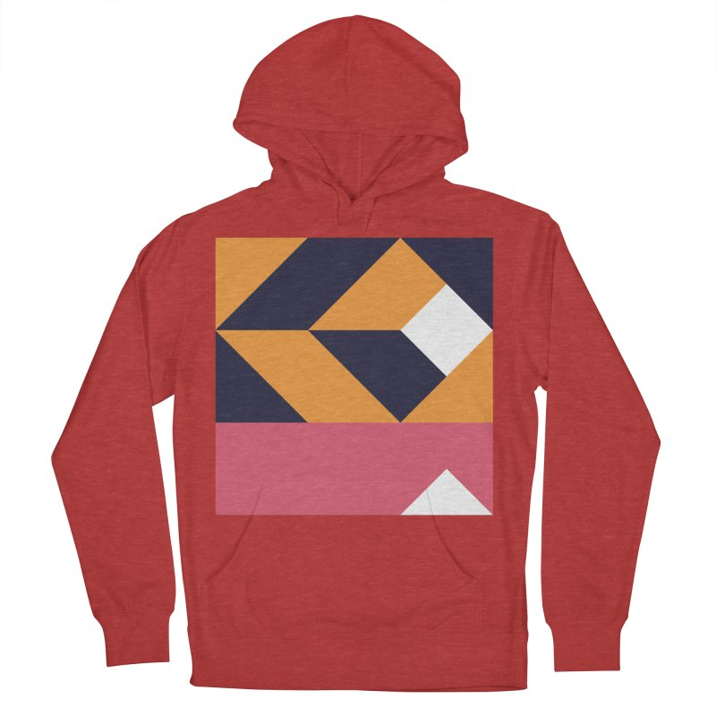 Geometric Design Series 4, Poster 6 Women's French Terry Pullover Hoody by Madeleine Hettich Design & Illustration