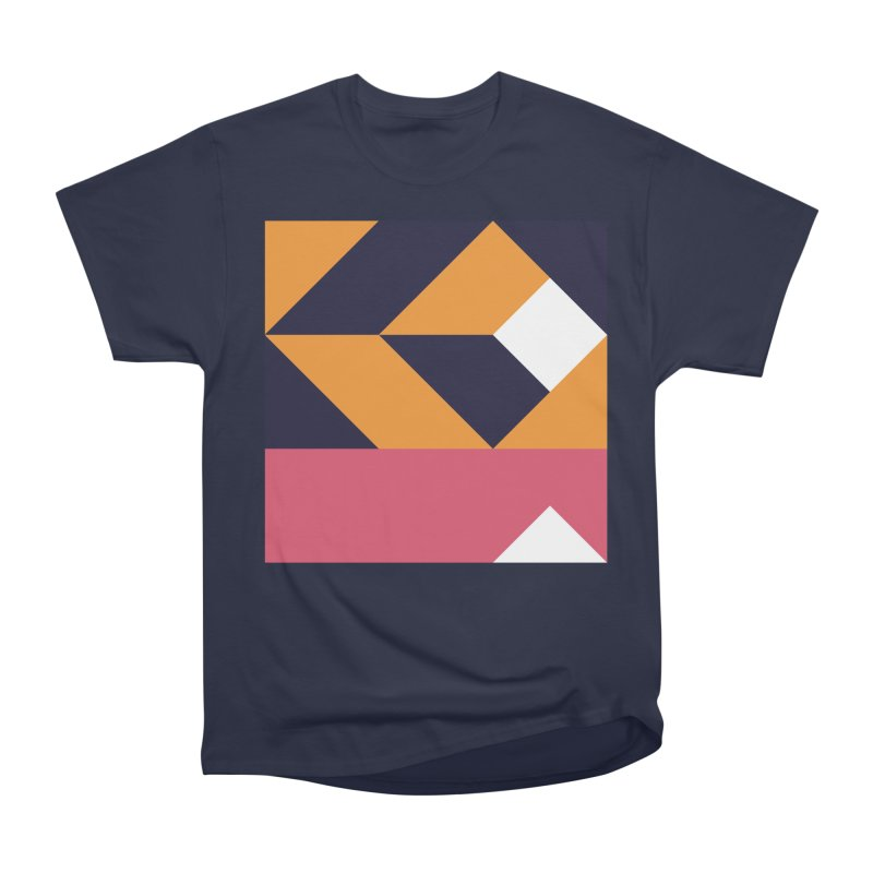 Geometric Design Series 4, Poster 6 Men's Heavyweight T-Shirt by Madeleine Hettich Design & Illustration