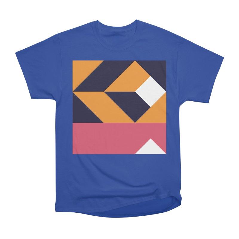 Geometric Design Series 4, Poster 6 Men's Heavyweight T-Shirt by Madeleine Hettich Design & Illustration