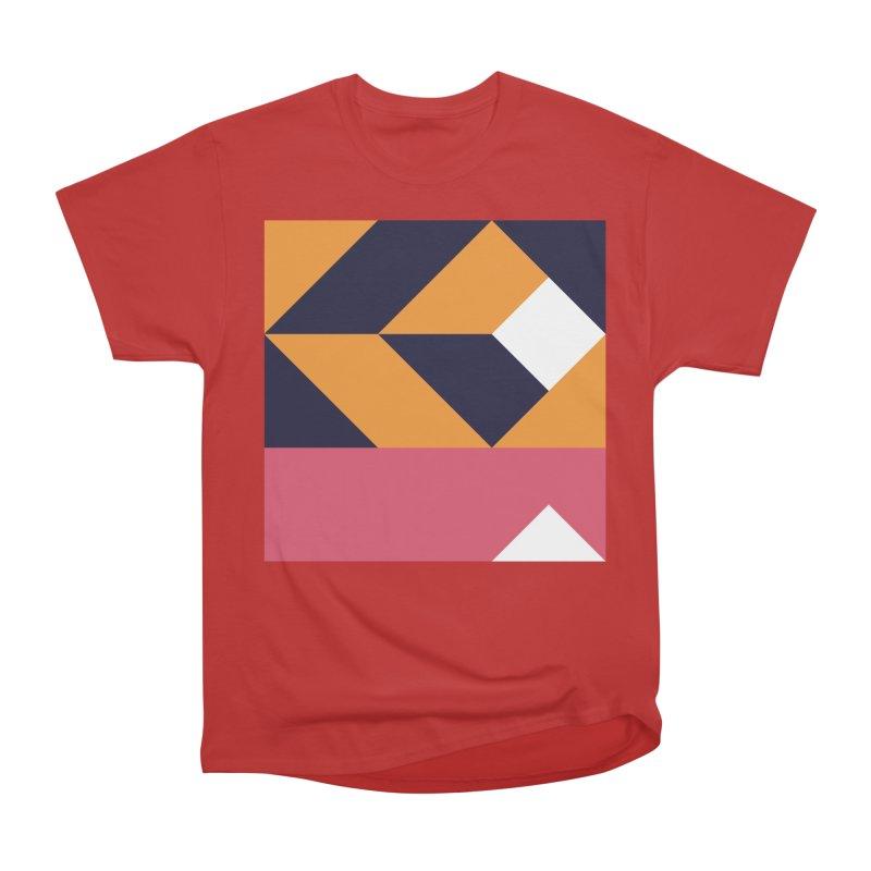 Geometric Design Series 4, Poster 6 Women's Heavyweight Unisex T-Shirt by Madeleine Hettich Design & Illustration