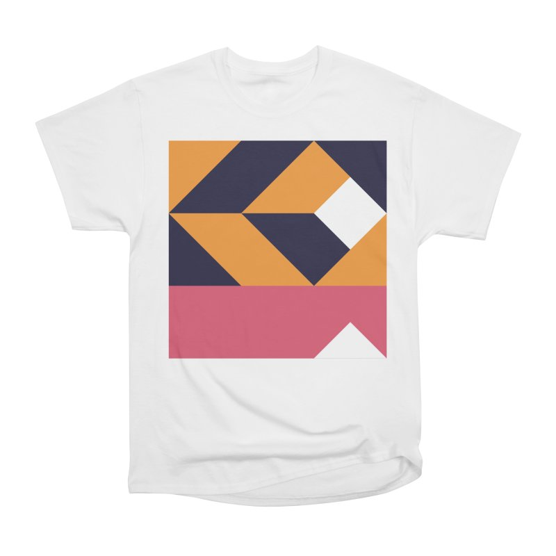 Geometric Design Series 4, Poster 6 Women's Heavyweight Unisex T-Shirt by Madeleine Hettich Design & Illustration