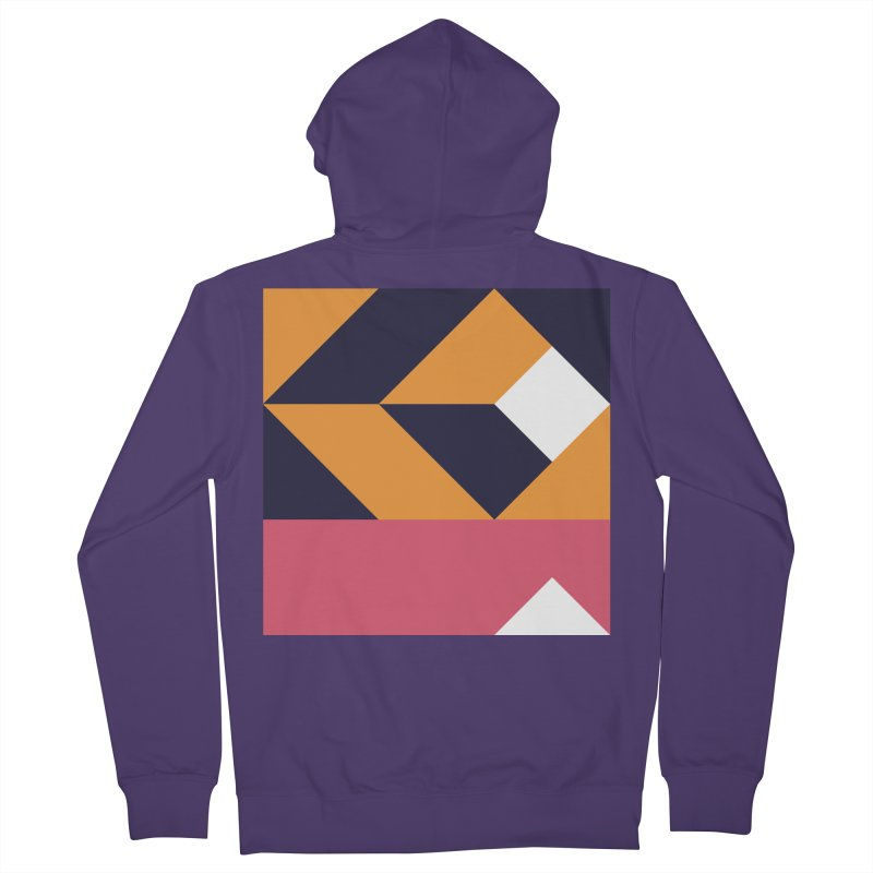 Geometric Design Series 4, Poster 6 Women's French Terry Zip-Up Hoody by Madeleine Hettich Design & Illustration