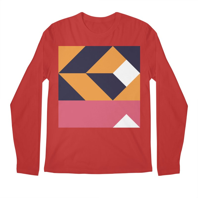 Geometric Design Series 4, Poster 6 Men's Regular Longsleeve T-Shirt by Madeleine Hettich Design & Illustration