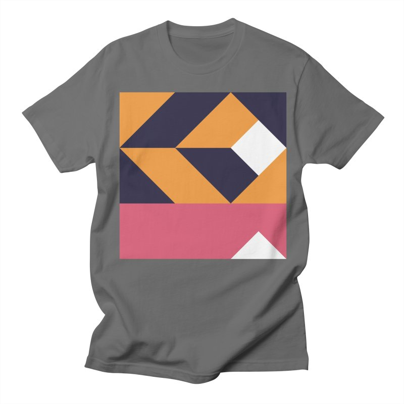 Geometric Design Series 4, Poster 6 Women's Regular Unisex T-Shirt by Madeleine Hettich Design & Illustration