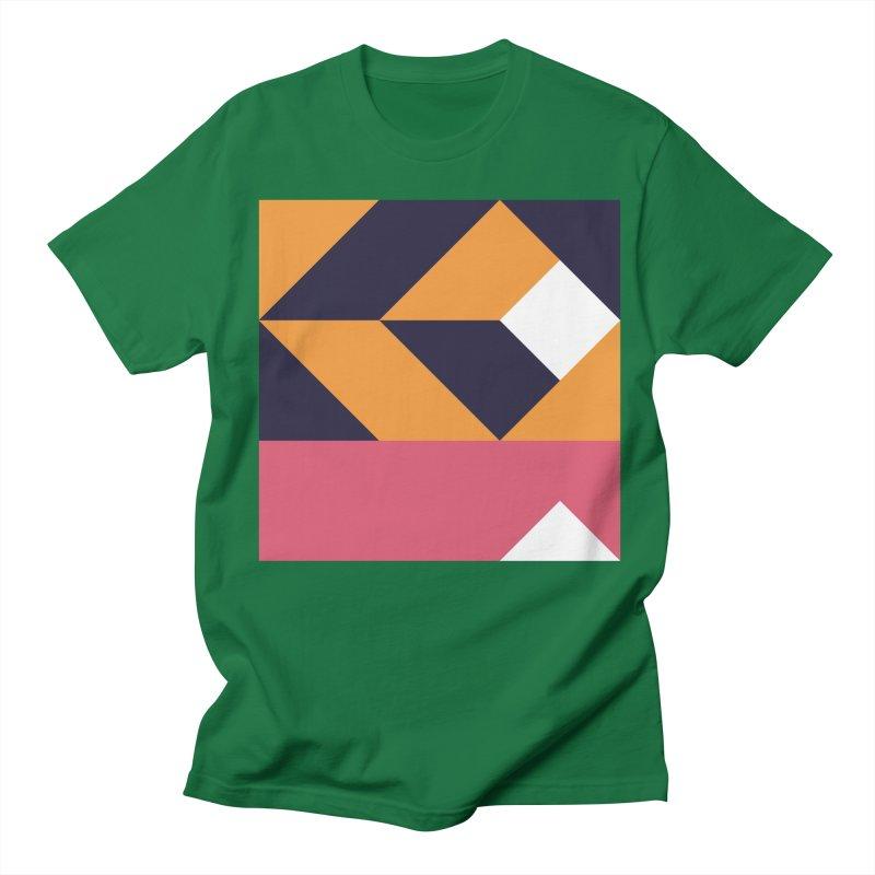 Geometric Design Series 4, Poster 6 Men's Regular T-Shirt by Madeleine Hettich Design & Illustration