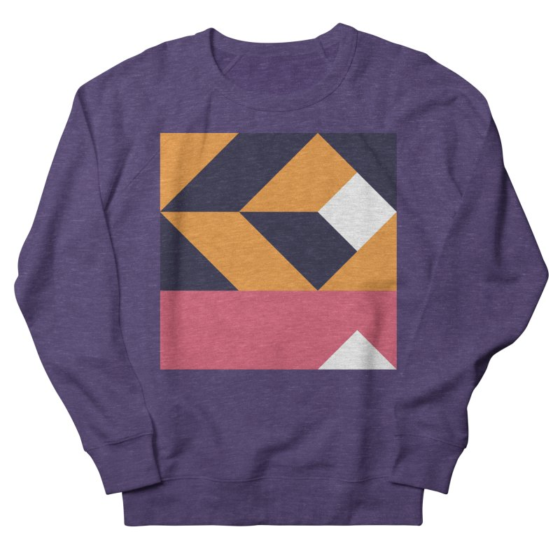 Geometric Design Series 4, Poster 6 Men's French Terry Sweatshirt by Madeleine Hettich Design & Illustration