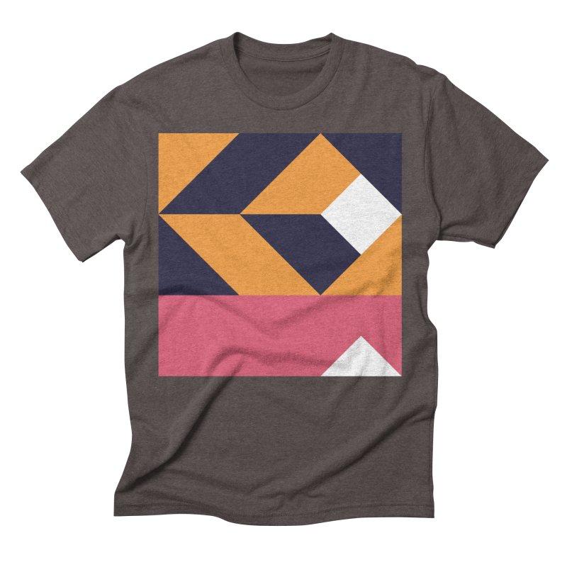 Geometric Design Series 4, Poster 6 Men's Triblend T-Shirt by Madeleine Hettich Design & Illustration