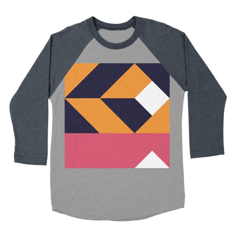 Geometric Design Series 4, Poster 6 Women's Baseball Triblend T-Shirt by Madeleine Hettich Design & Illustration
