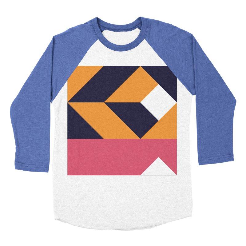 Geometric Design Series 4, Poster 6 Men's Baseball Triblend T-Shirt by Madeleine Hettich Design & Illustration