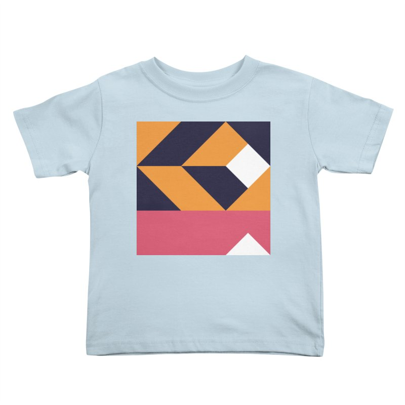 Geometric Design Series 4, Poster 6 Kids Toddler T-Shirt by Madeleine Hettich Design & Illustration