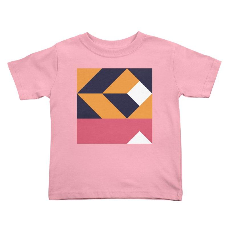 Geometric Design Series 4, Poster 6 Kids Toddler T-Shirt by Madeleine Hettich Design & Illustration