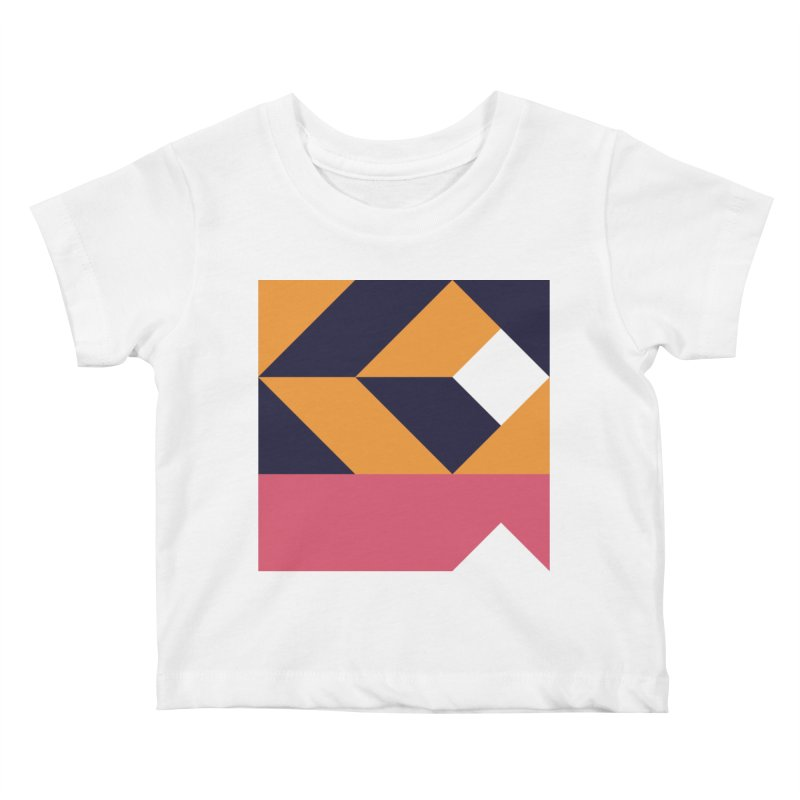 Geometric Design Series 4, Poster 6 Kids Baby T-Shirt by Madeleine Hettich Design & Illustration