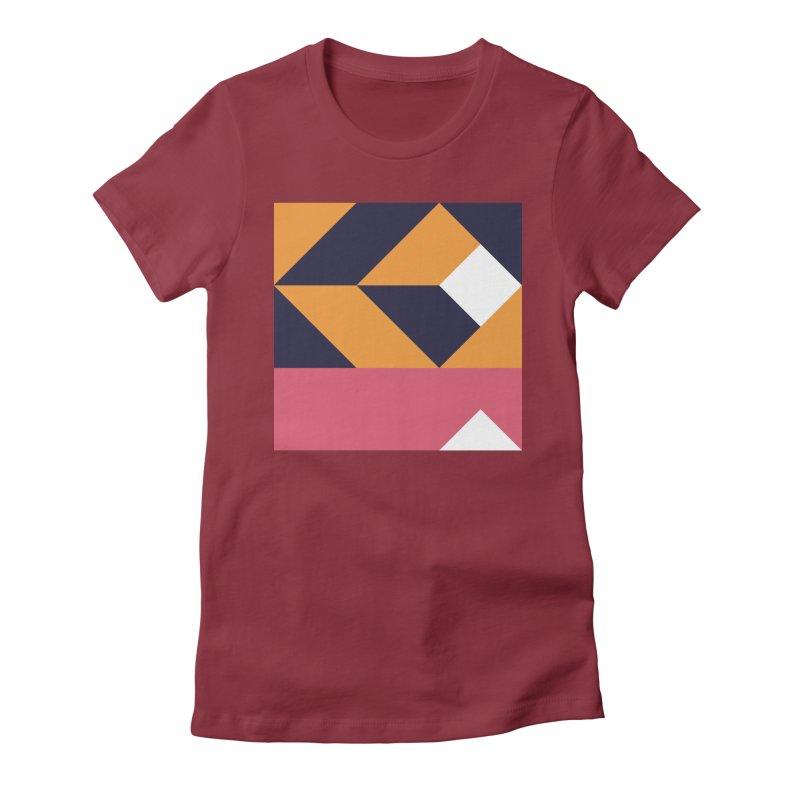 Geometric Design Series 4, Poster 6 Women's T-Shirt by Madeleine Hettich Design & Illustration