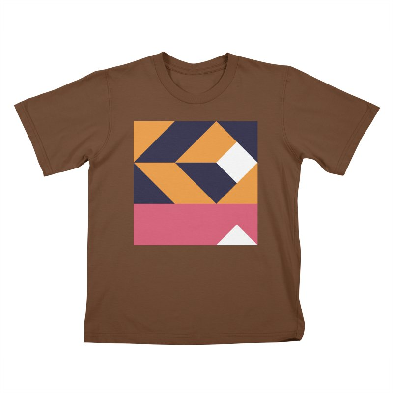 Geometric Design Series 4, Poster 6 Kids T-Shirt by Madeleine Hettich Design & Illustration