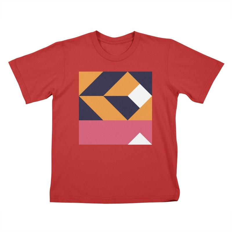 Geometric Design Series 4, Poster 6 Kids T-Shirt by Madeleine Hettich Design & Illustration