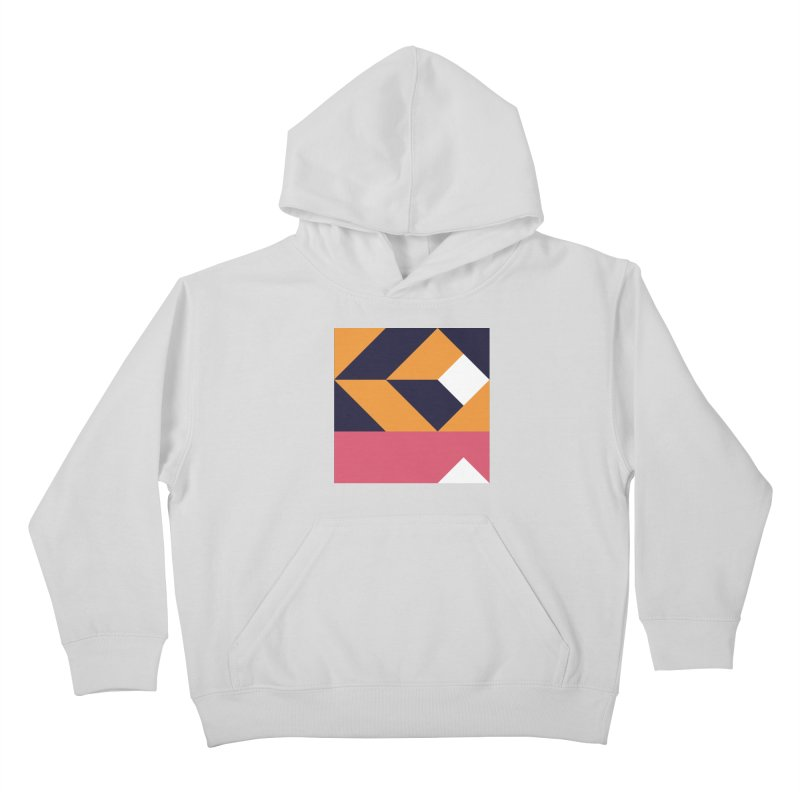 Geometric Design Series 4, Poster 6 Kids Pullover Hoody by Madeleine Hettich Design & Illustration