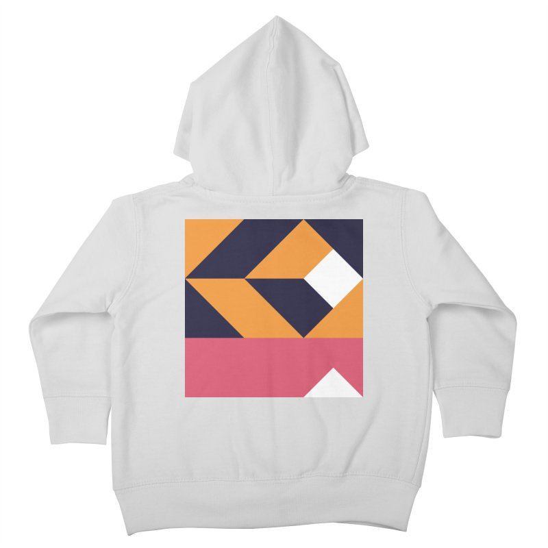 Geometric Design Series 4, Poster 6 Kids Toddler Zip-Up Hoody by Madeleine Hettich Design & Illustration