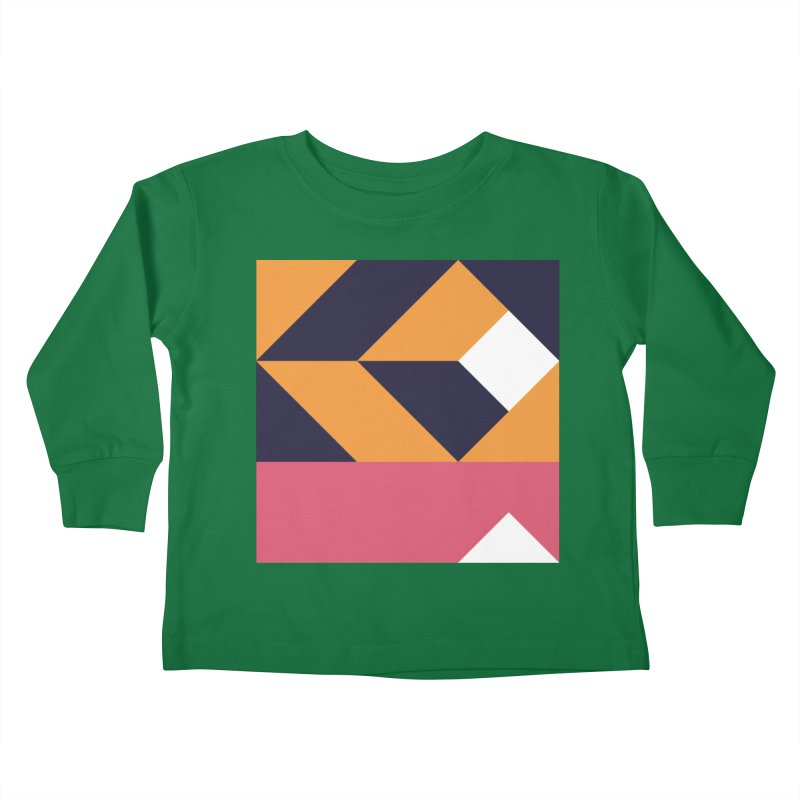 Geometric Design Series 4, Poster 6 Kids Toddler Longsleeve T-Shirt by Madeleine Hettich Design & Illustration