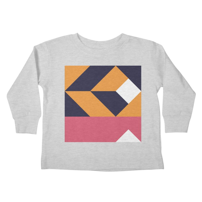 Geometric Design Series 4, Poster 6 Kids Toddler Longsleeve T-Shirt by Madeleine Hettich Design & Illustration
