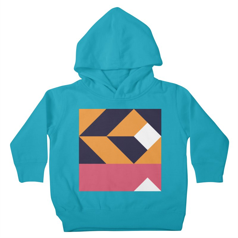 Geometric Design Series 4, Poster 6 Kids Toddler Pullover Hoody by Madeleine Hettich Design & Illustration