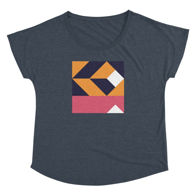 Geometric Design Series 4, Poster 6 Women's Dolman Scoop Neck by Madeleine Hettich Design & Illustration