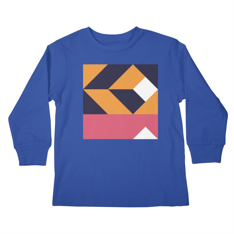 Geometric Design Series 4, Poster 6 Kids Longsleeve T-Shirt by Madeleine Hettich Design & Illustration