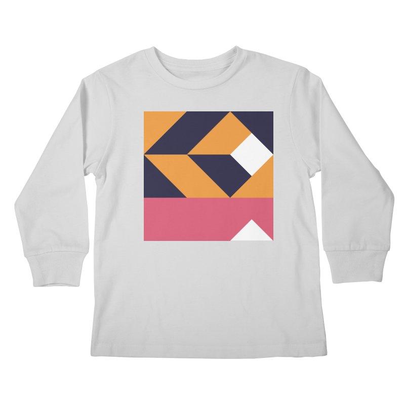 Geometric Design Series 4, Poster 6 Kids Longsleeve T-Shirt by Madeleine Hettich Design & Illustration