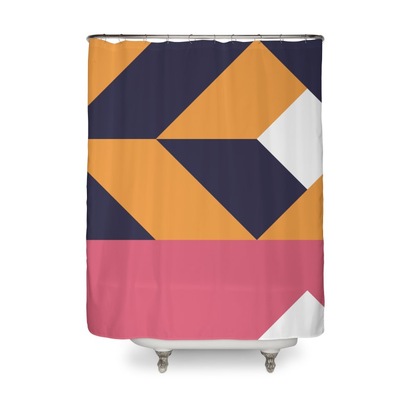 Geometric Design Series 4, Poster 6 Home Shower Curtain by Madeleine Hettich Design & Illustration