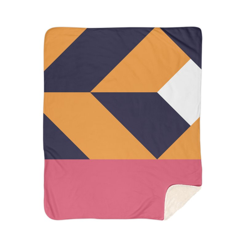 Geometric Design Series 4, Poster 6 Home Sherpa Blanket Blanket by Madeleine Hettich Design & Illustration