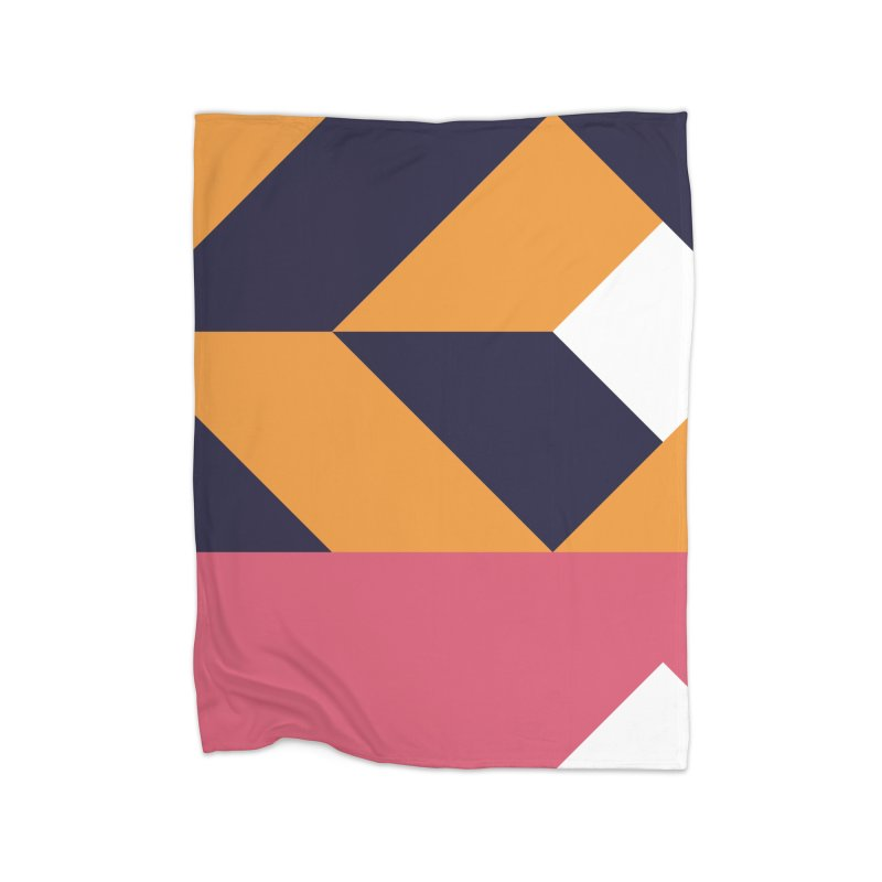 Geometric Design Series 4, Poster 6 Home Blanket by Madeleine Hettich Design & Illustration