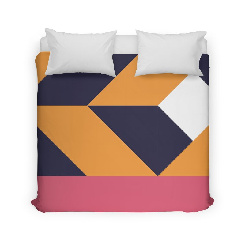 Geometric Design Series 4, Poster 6 Home Duvet by Madeleine Hettich Design & Illustration