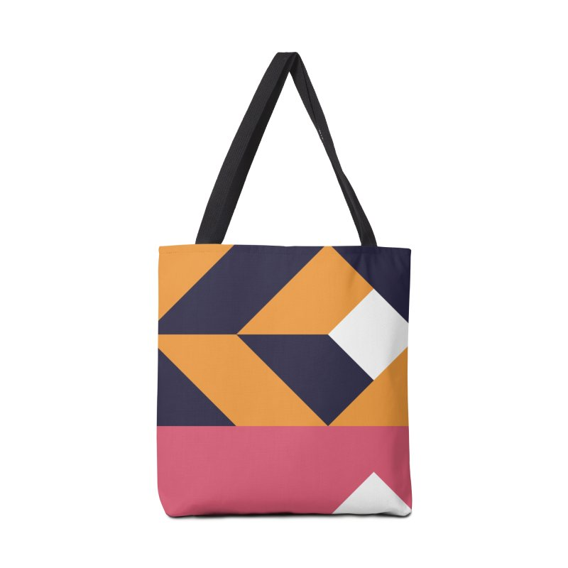 Geometric Design Series 4, Poster 6 Accessories Bag by Madeleine Hettich Design & Illustration