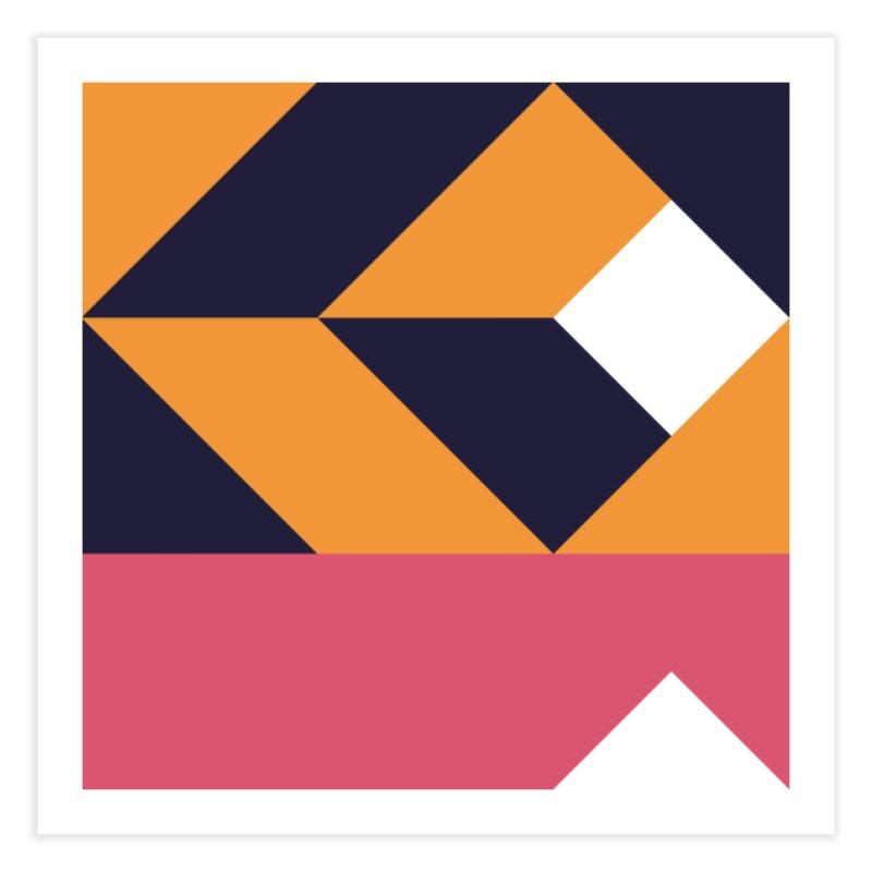 Geometric Design Series 4, Poster 6 Home Fine Art Print by Madeleine Hettich Design & Illustration
