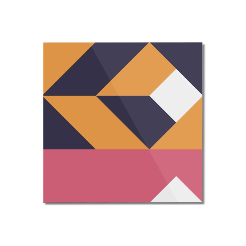 Geometric Design Series 4, Poster 6 Home Mounted Acrylic Print by Madeleine Hettich Design & Illustration