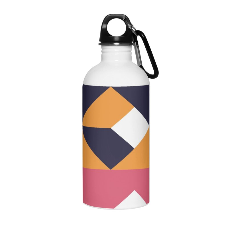 Geometric Design Series 4, Poster 6 Accessories Water Bottle by Madeleine Hettich Design & Illustration