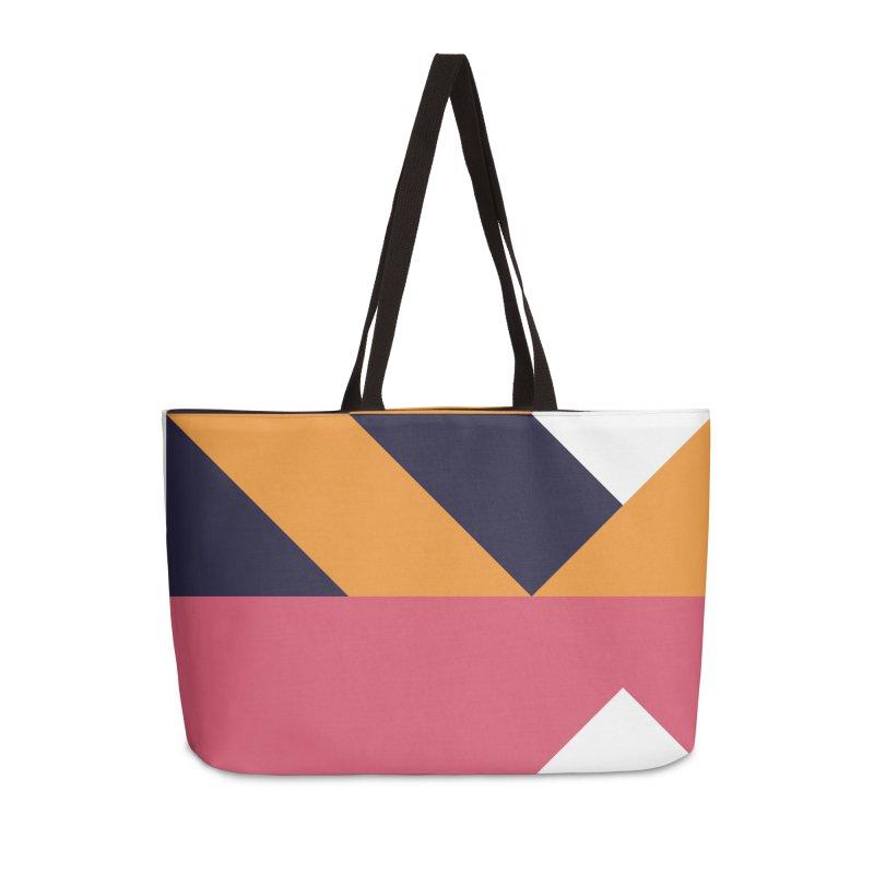 Geometric Design Series 4, Poster 6 Accessories Weekender Bag Bag by Madeleine Hettich Design & Illustration