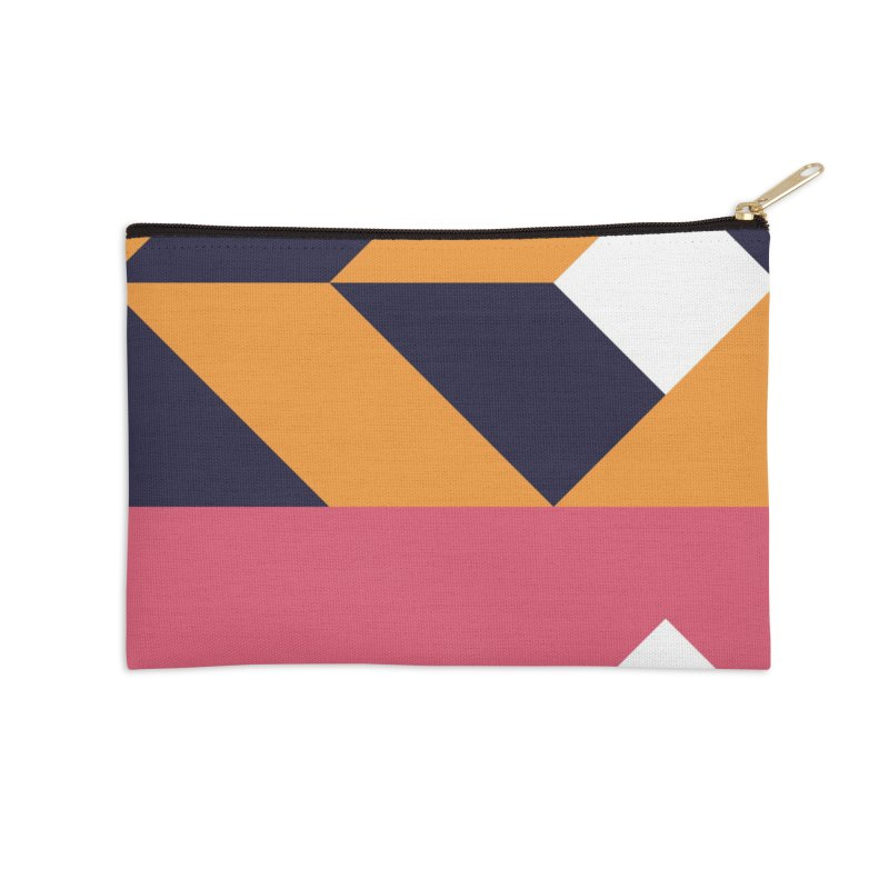 Geometric Design Series 4, Poster 6 Accessories Zip Pouch by Madeleine Hettich Design & Illustration