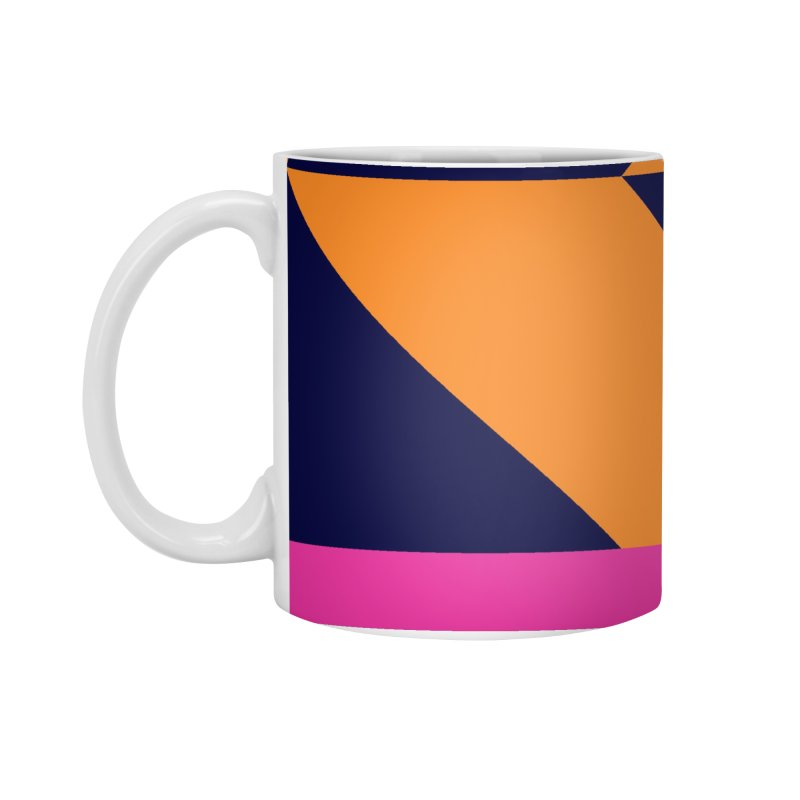 Geometric Design Series 4, Poster 6 (Version 2) Accessories Standard Mug by Madeleine Hettich Design & Illustration