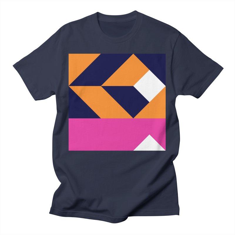 Geometric Design Series 4, Poster 6 (Version 2) Men's T-Shirt by Madeleine Hettich Design & Illustration