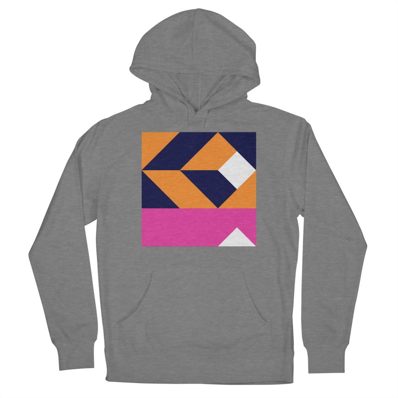Geometric Design Series 4, Poster 6 (Version 2) Women's French Terry Pullover Hoody by Madeleine Hettich Design & Illustration