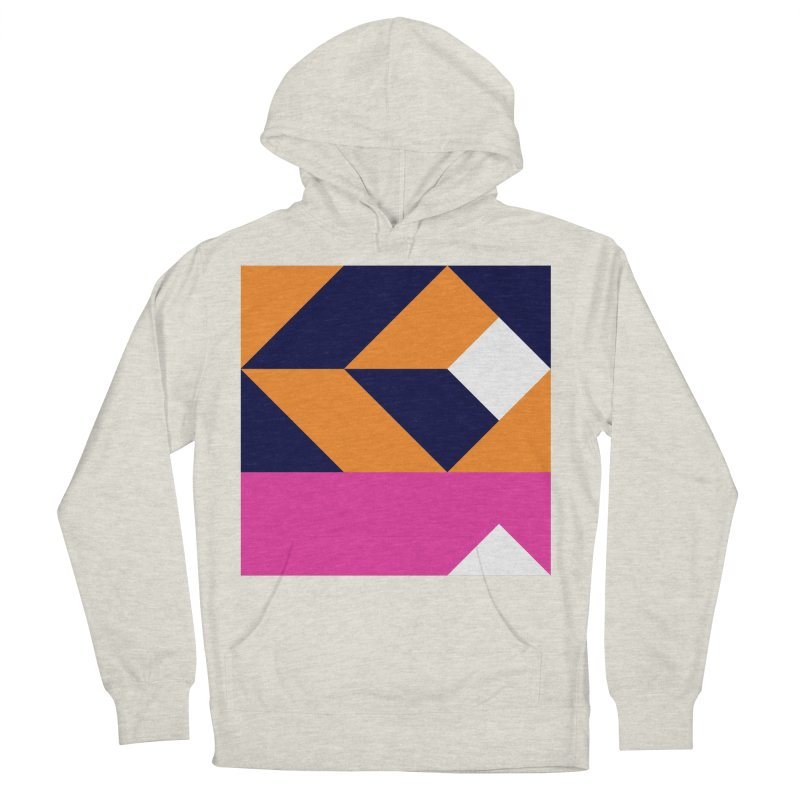 Geometric Design Series 4, Poster 6 (Version 2) Men's French Terry Pullover Hoody by Madeleine Hettich Design & Illustration