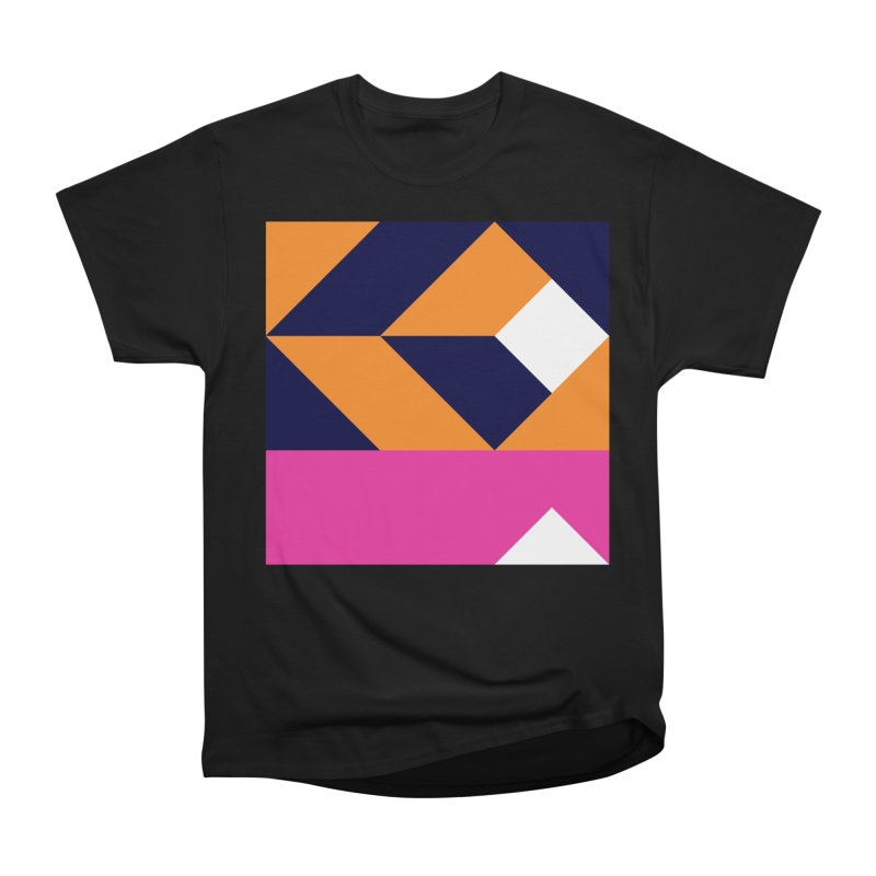 Geometric Design Series 4, Poster 6 (Version 2) Women's Heavyweight Unisex T-Shirt by Madeleine Hettich Design & Illustration