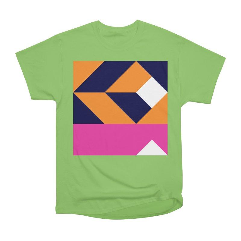 Geometric Design Series 4, Poster 6 (Version 2) Women's Heavyweight Unisex T-Shirt by Madeleine Hettich Design & Illustration