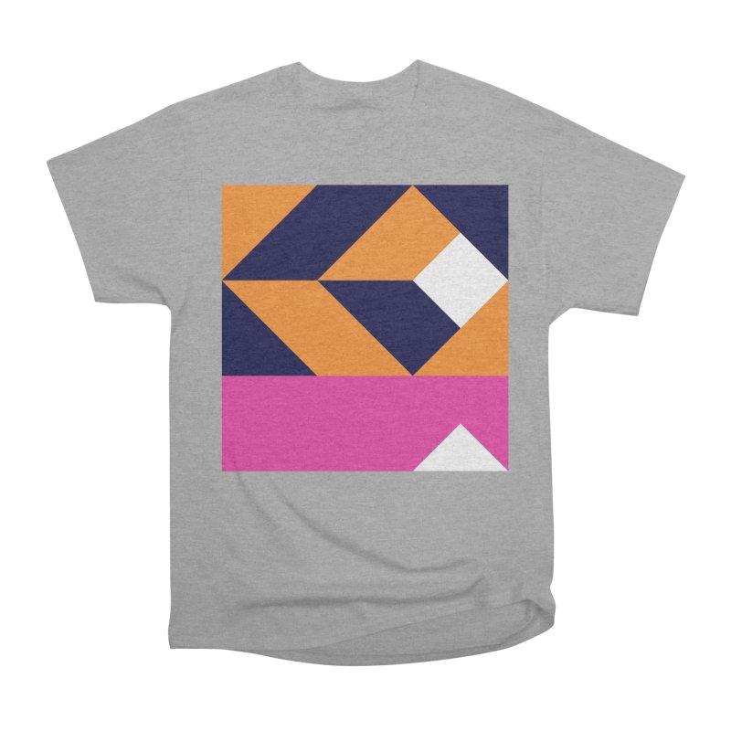 Geometric Design Series 4, Poster 6 (Version 2) Men's Heavyweight T-Shirt by Madeleine Hettich Design & Illustration