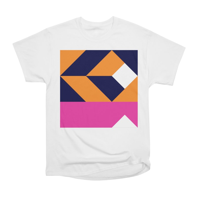 Geometric Design Series 4, Poster 6 (Version 2) Women's Classic Unisex T-Shirt by Madeleine Hettich Design & Illustration