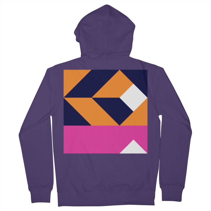Geometric Design Series 4, Poster 6 (Version 2) Women's French Terry Zip-Up Hoody by Madeleine Hettich Design & Illustration