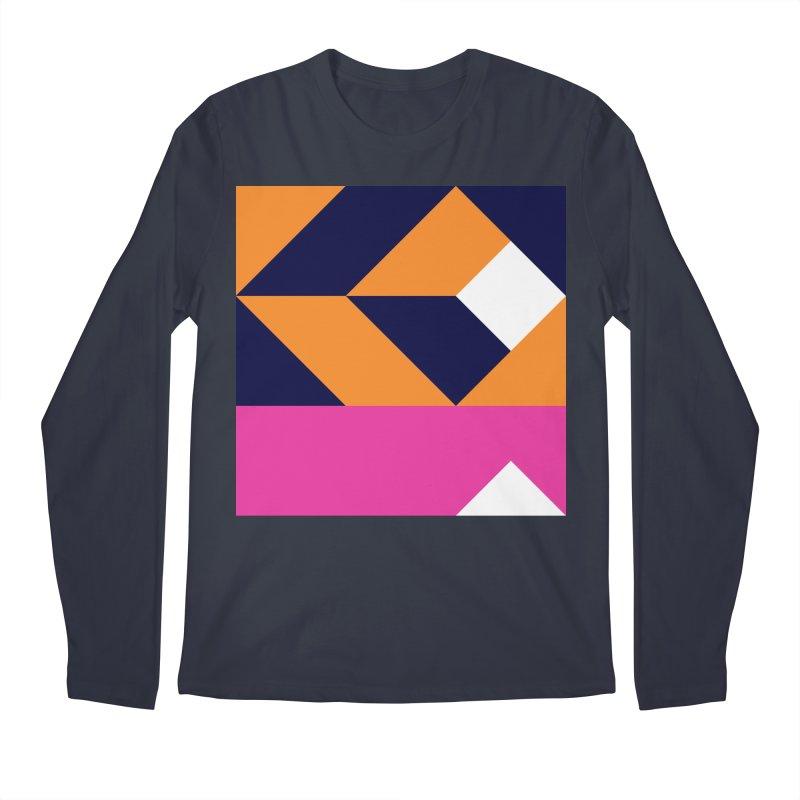 Geometric Design Series 4, Poster 6 (Version 2) Men's Regular Longsleeve T-Shirt by Madeleine Hettich Design & Illustration