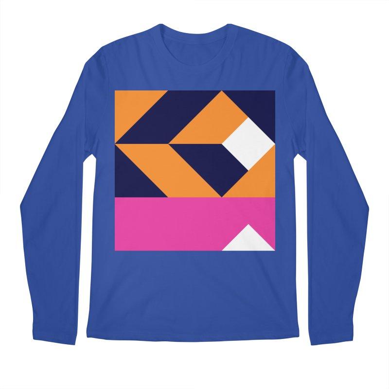 Geometric Design Series 4, Poster 6 (Version 2) Men's Longsleeve T-Shirt by Madeleine Hettich Design & Illustration