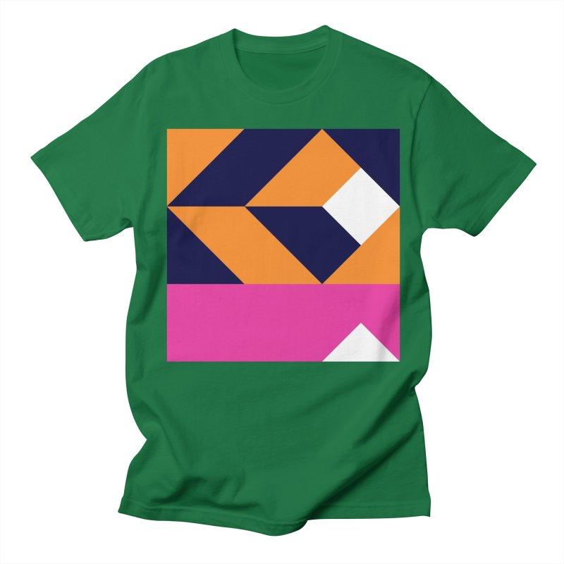 Geometric Design Series 4, Poster 6 (Version 2) Men's Regular T-Shirt by Madeleine Hettich Design & Illustration