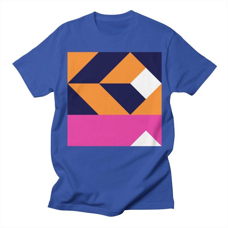 Geometric Design Series 4, Poster 6 (Version 2) Women's Regular Unisex T-Shirt by Madeleine Hettich Design & Illustration